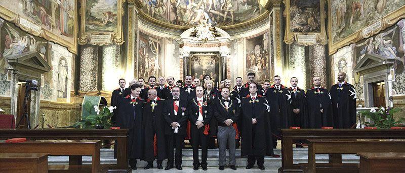Cerimonia d'Investitura – Basilica di San Vitale Roma