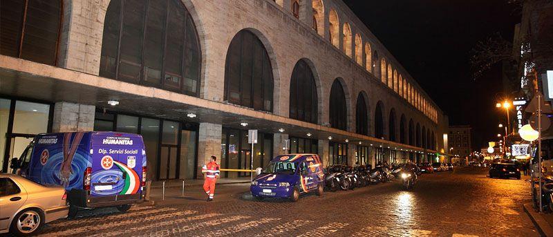 Donati 700 Pasti Caldi presso le stazioni di Roma