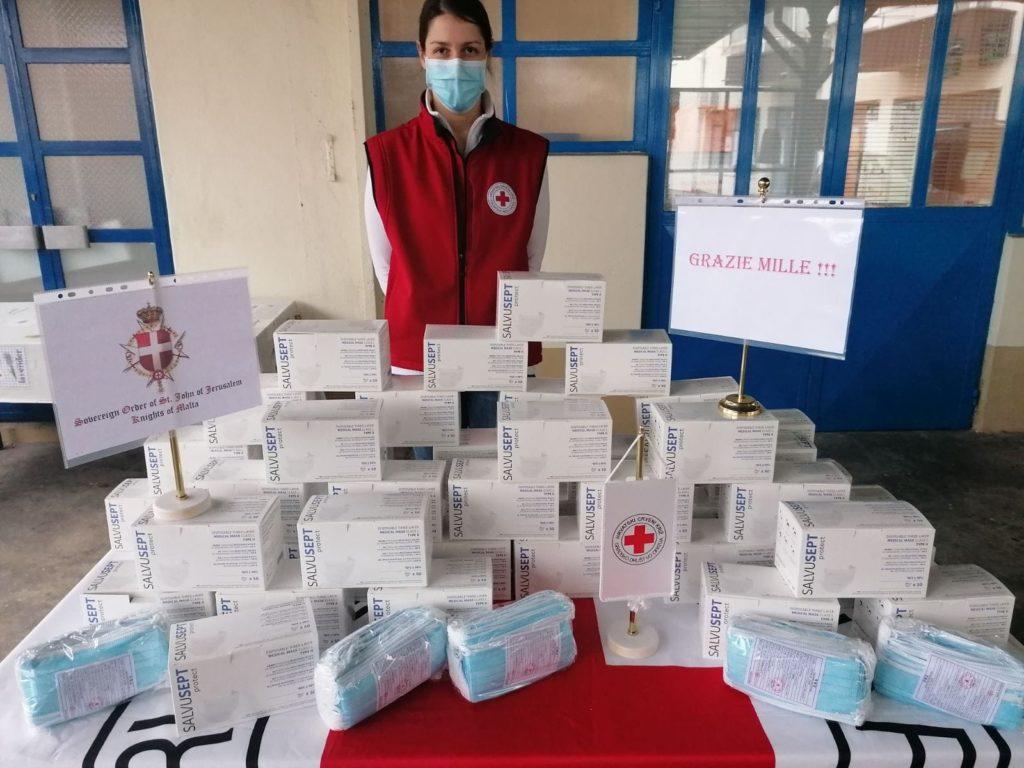 DONAZIONE MASCHERINE IN CROAZIA